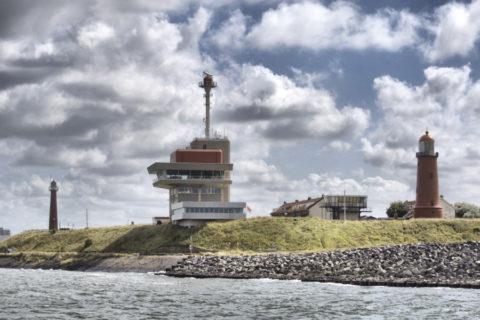 Uniek overnachten aan de monding van het Noordzeekanaal