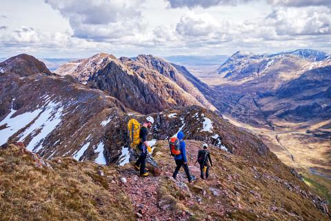 De gevaarlijkste wandelroute van Schotland