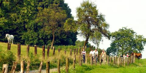 Op de fiets over de 'Grensgangersroute' door oude graafschappen, bisdommen en koninkrijkjes