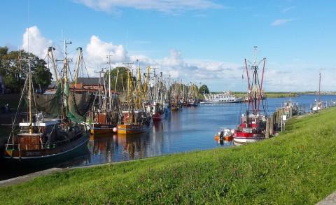Fietsen tussen vissers en piraten in OstFriesland