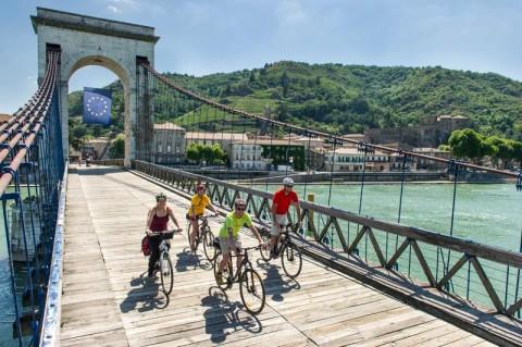 Opgevallen: Nieuwe fietsroute langs de Rhône
