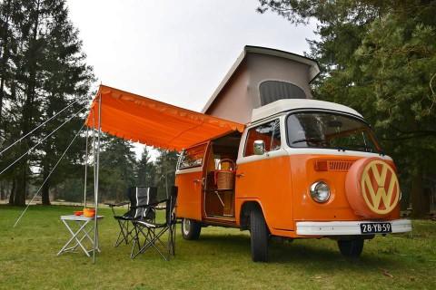 Een weekendje retro in een VW-camper