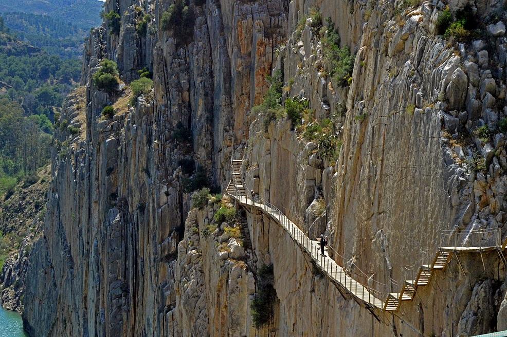 Caminito del Rey, foto: MichiNerja, Wikimedia