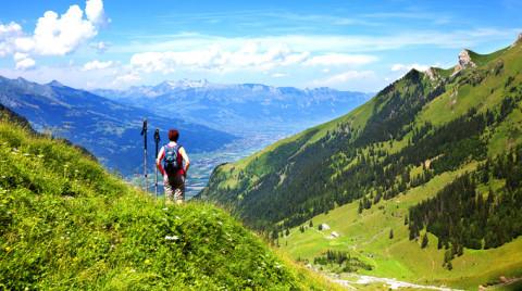 Klein maar fijn: Wandelen in de Alpen van Liechtenstein