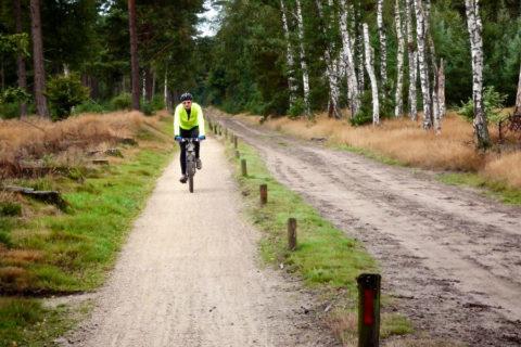 Acht fietsroutes tussen Salland en de Regge