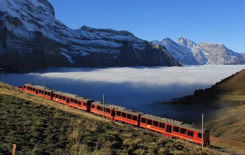 Met de Jungfraubahn op avontuur naar de 'Top of Europe'