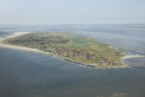 Dagtocht naar het kleinste Duitse Waddeneiland