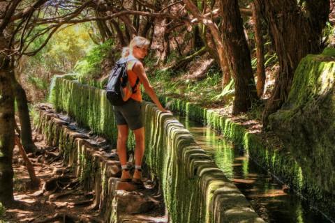 'Rabaçal', overal water in het hart van Madeira