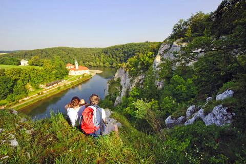 De Altmühltal-Panoramaweg: een spectaculaire Top Trail eindigend bij de Donau