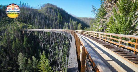 Ken je de langste Hike & Bike Trail ter wereld?