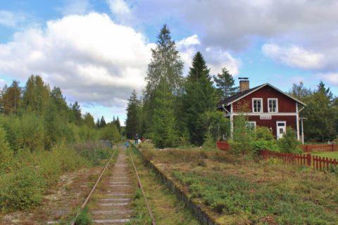 Unieke Outdoor Herfstweek in Zweden vanuit een 'Hollands' stationnetje.