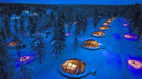Actief onder het Noorderlicht vanuit uniek resort in Lapland