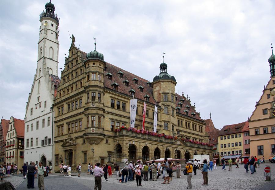 Rothenburg-ob-der-Tauber,-Berthold-Werner