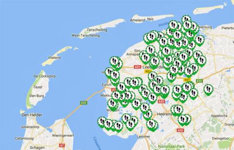 Het nieuwe wandelnetwerk van Friesland