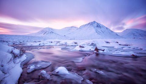 Adembenemend winterwandelen in Schotland