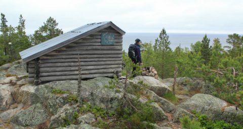 Een zeldzaam schiereiland aan de Zweedse oostkust
