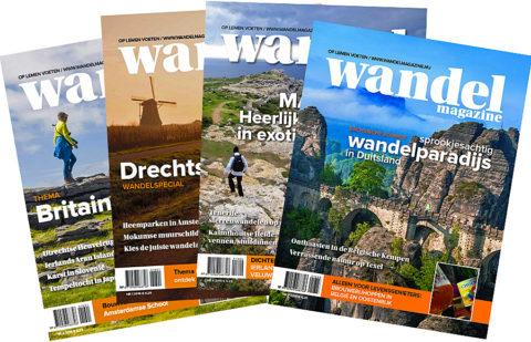 Jaarabonnement Wandelmagazine nu met €10,- Ecktiv-korting
