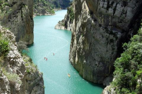 Spectaculaire wandeling door de 'Mont-rebei kloof' in Catalonië