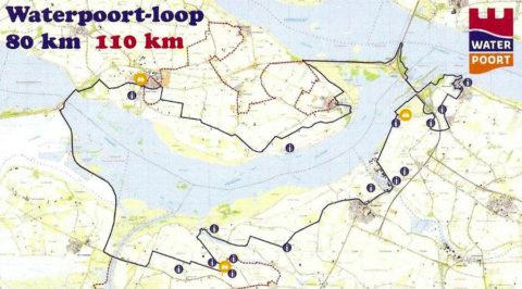 10 & 11 maart: Waterpoortloop rond het Volkerak