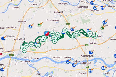 Actueel: Doe nu de Betuwse Bloesem fietsroute langs de Linge