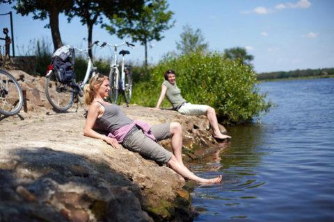 De Ems Radweg: dé rivier-fietsroute net over de grens