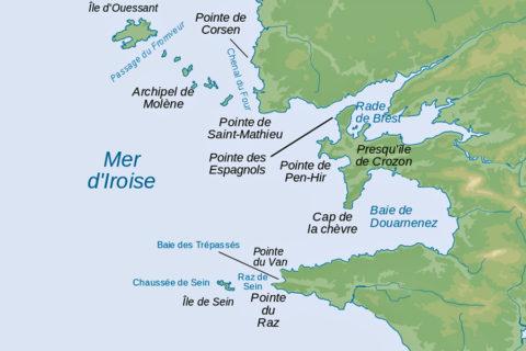 Van kaap naar kaap langs de razende kust van Bretagne