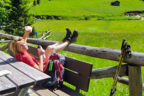 Hallo bergwandelaars: tot eind september kun je weer op huttentocht