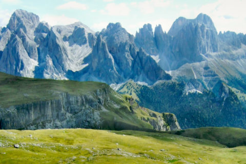 Huttentocht Dolomieten langs beroemd bergmassief Italië