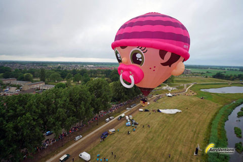 25 t/m 29 juli: Wandelen onder luchtballonnen in Friesland