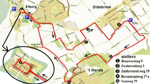 3 augustus: Fietsrondje Kunst rond Elburg