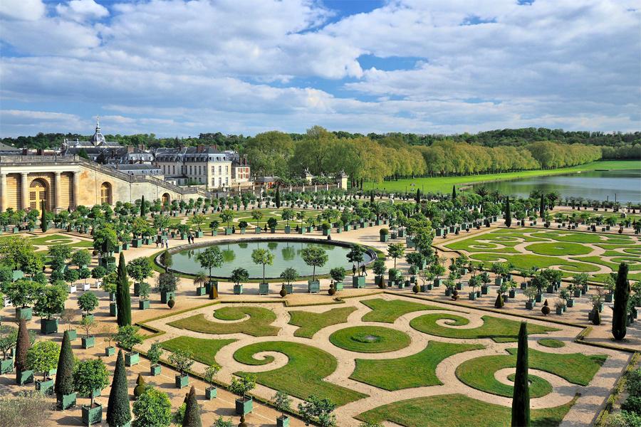 Een Dagje Fietsen Door De Tuinen Van Versailles