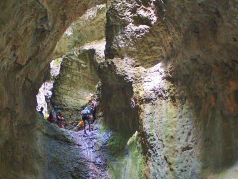 Canyoning kan iedereen, voor wie net iets meer avontuur wil