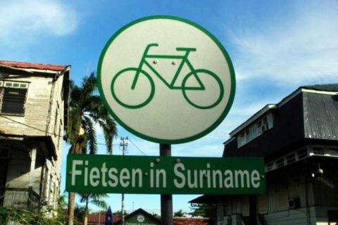 Fietsen in Suriname, een bijzondere ervaring