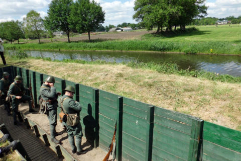 26 aug: Grebbelinie Bunker en loopgraven wandeltocht