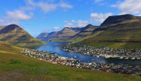 Kennismaking met het landschap van de Faeröer eilanden