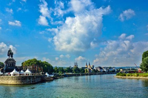 Koblenz: ideale uitvalsbasis voor een actieve nazomer