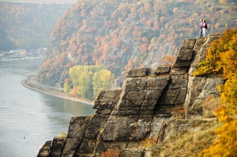 De Rheinsteig, een rivierwandeling op grote hoogte