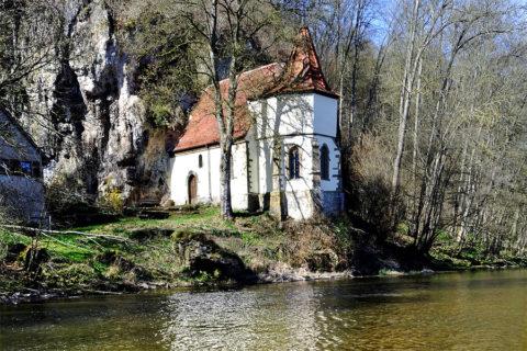 Wandelroute door de vallei van de Jagst waar natuur en cultuur samensmelten