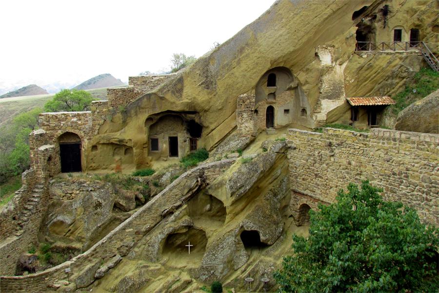 David-Gareji-klooster-met-grotten,-Jetty