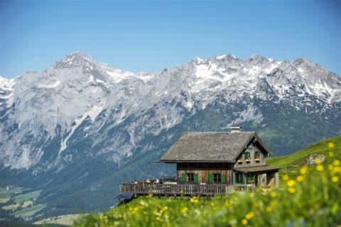 Huttentocht Salzburgerland, Oostenrijk