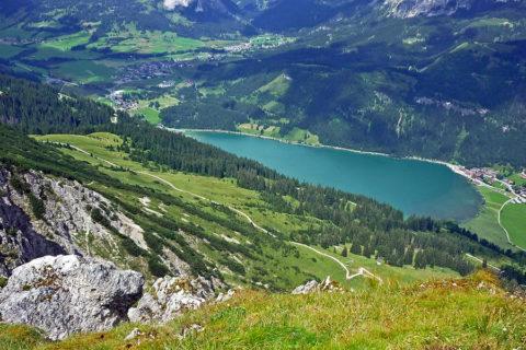 Huttentocht in Tirol, Oostenrijk