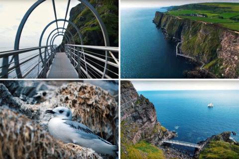 Een Noord-Iers Cliff-path voor 'Lief & Lefhebbers'