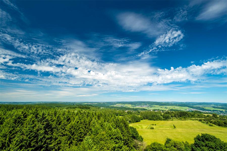 Uitzicht over Westerwald, foto: Dominik Ketz Rheinland-Pfalz Tourismus