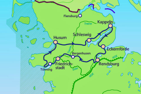 Fietsroute in de voetsporen van de Vikingen