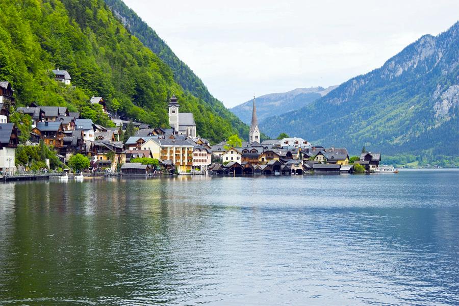 De Mondsee, de plek waar Sissi Foto: haskamonika,-Pixabay