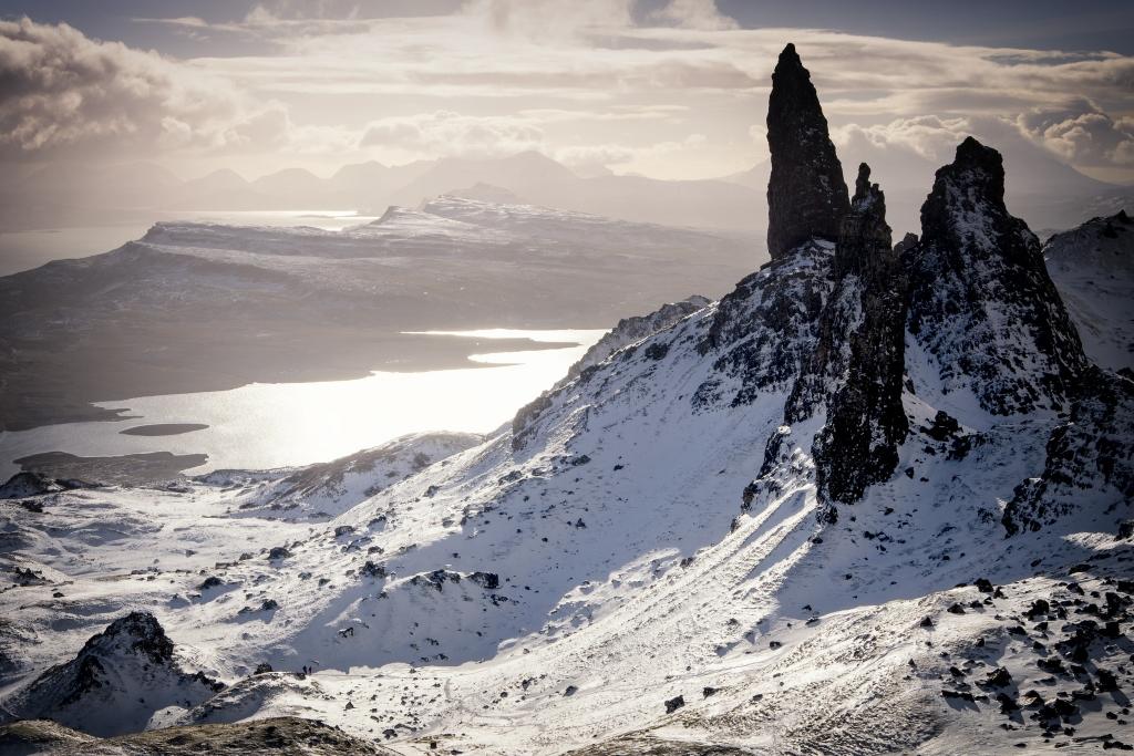 Foto: Winterwalk on Skye door Andi Campbell-Jones