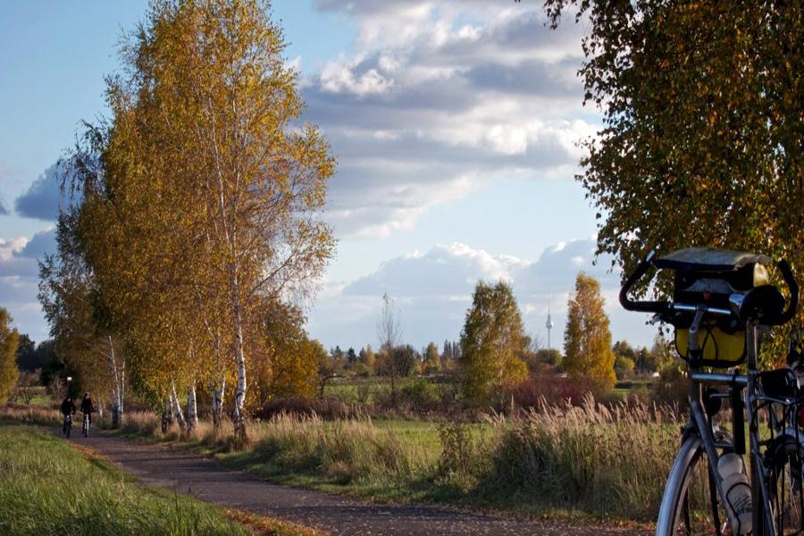 Je fiets ook door natuurgebied de Tegeler-Fliess, foto: jocki84, Flickr