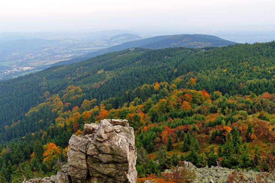 Bohemen,-Herfst-uitzicht,-Wanda