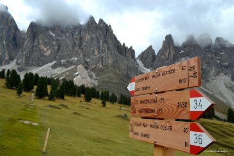 Wandelen door het mooiste berglandschap ter wereld