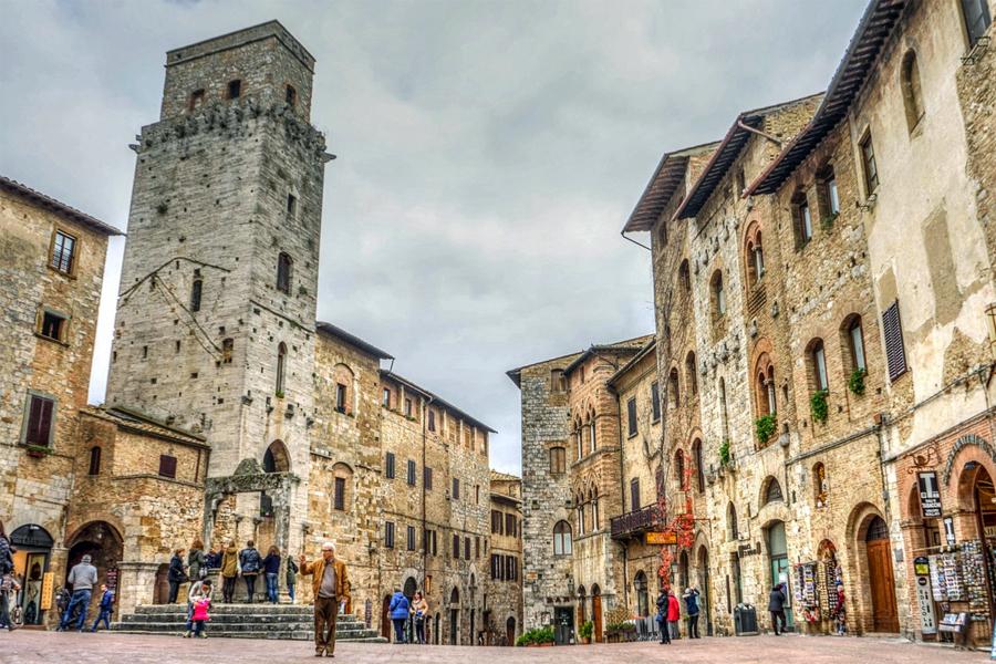 San-Gimignano,-Mariamichelle,-Pixabay